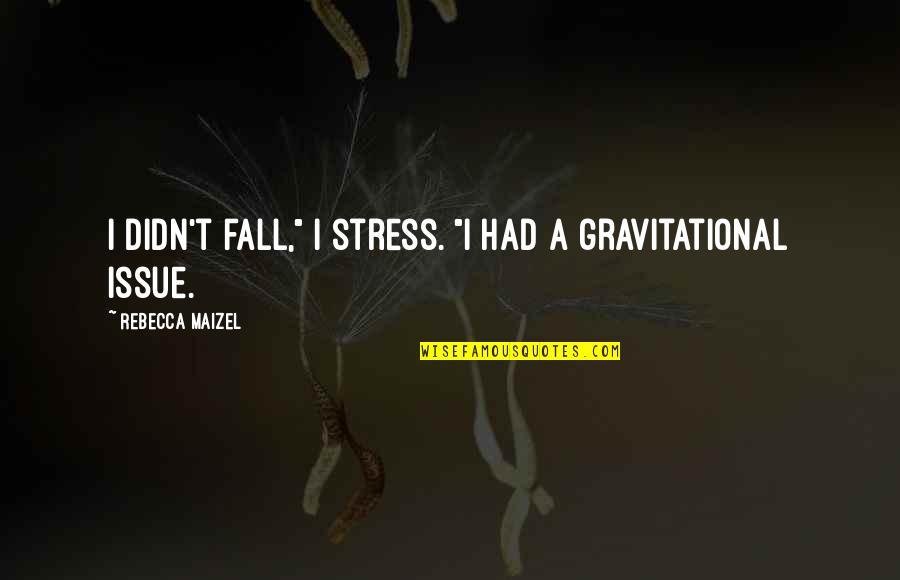"Cooperative Car Insurance Quotes By Rebecca Maizel: I didn't fall,"" I stress. ""I had a"