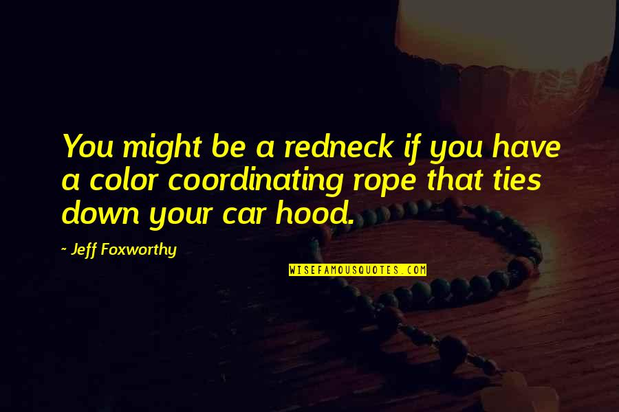 Coordinating Quotes By Jeff Foxworthy: You might be a redneck if you have