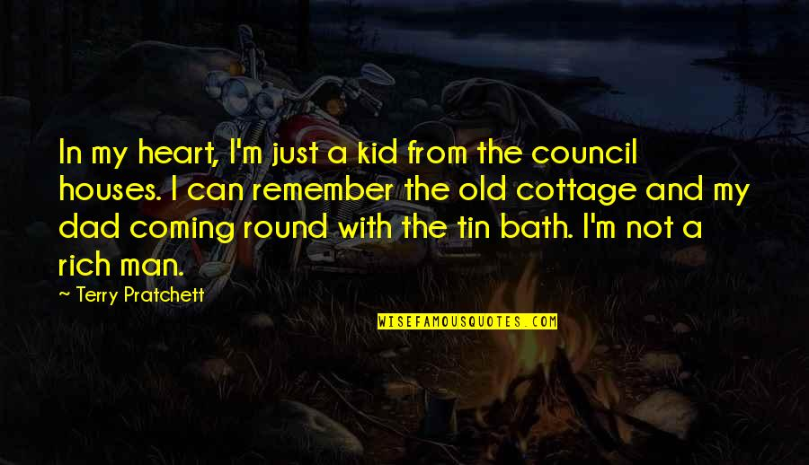 Council'll Quotes By Terry Pratchett: In my heart, I'm just a kid from