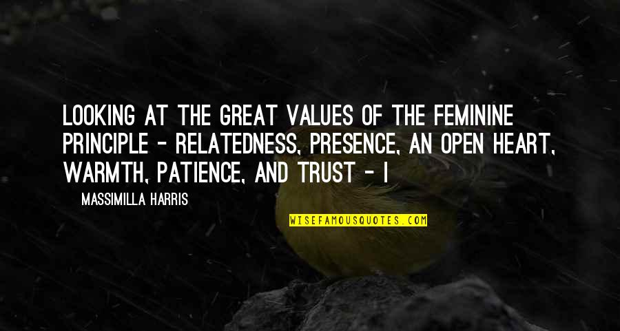 Country Girl Poems And Quotes By Massimilla Harris: Looking at the great values of the feminine