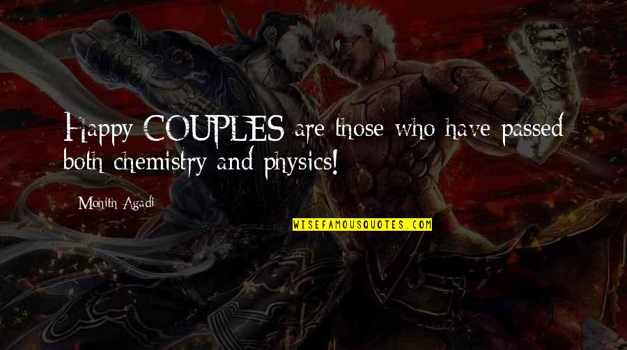 Couples Funny Quotes By Mohith Agadi: Happy COUPLES are those who have passed both