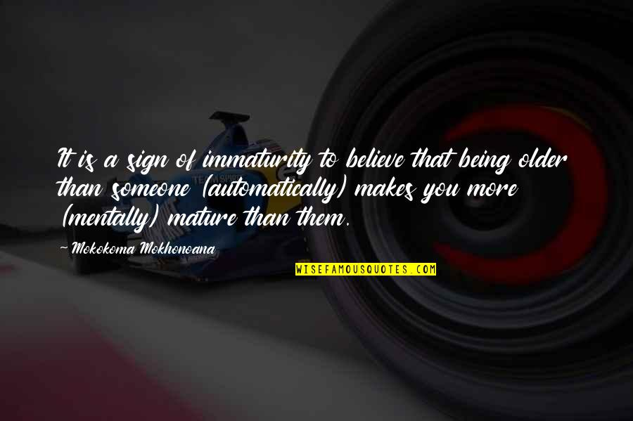 Css Font Family Single Quotes By Mokokoma Mokhonoana: It is a sign of immaturity to believe