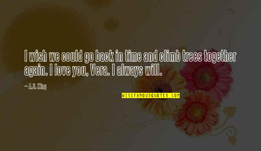 Curing Autism Quotes By A.S. King: I wish we could go back in time