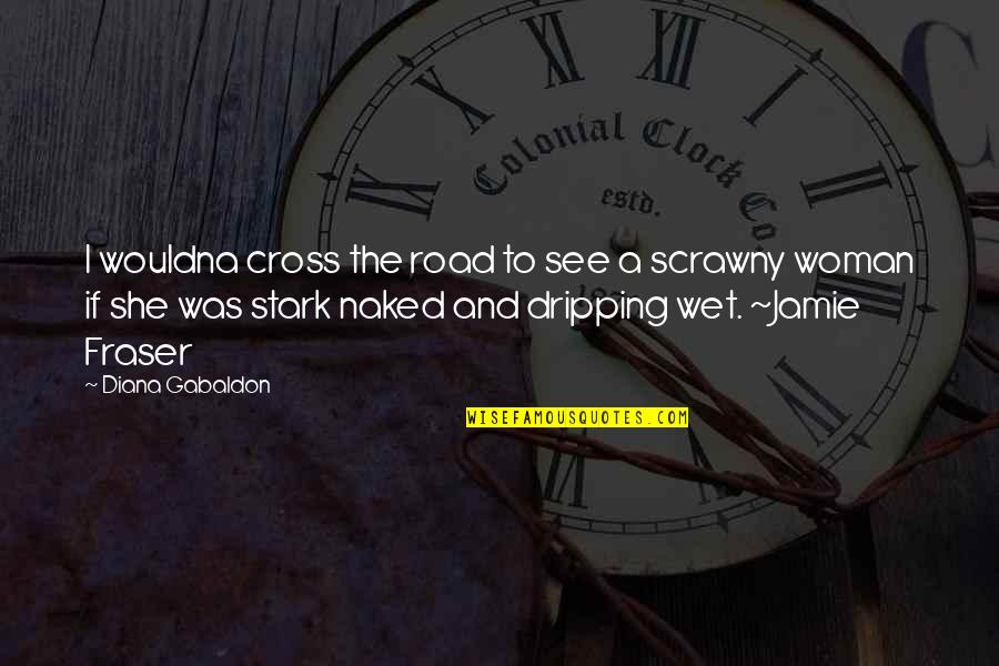 Curvy Road Quotes By Diana Gabaldon: I wouldna cross the road to see a