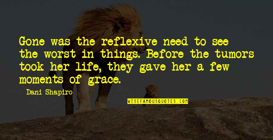 Dani Quotes By Dani Shapiro: Gone was the reflexive need to see the