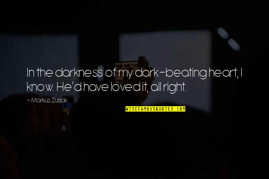 Darkness In The Heart Quotes Top 38 Famous Quotes About Darkness In