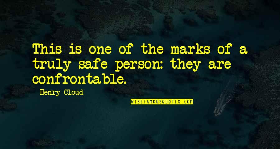 Death And Dying Spiritual Quotes By Henry Cloud: This is one of the marks of a