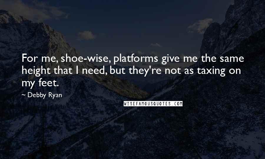 debby ryan height feet