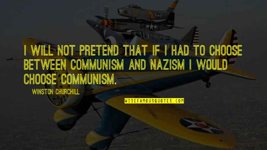 Deceived By Family Quotes By Winston Churchill: I will not pretend that if I had