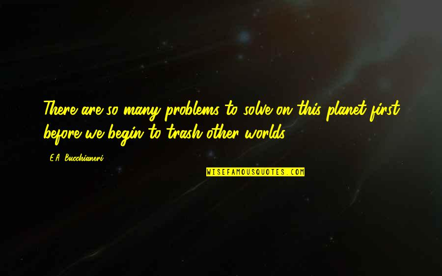 Desiree Movie Quotes By E.A. Bucchianeri: There are so many problems to solve on