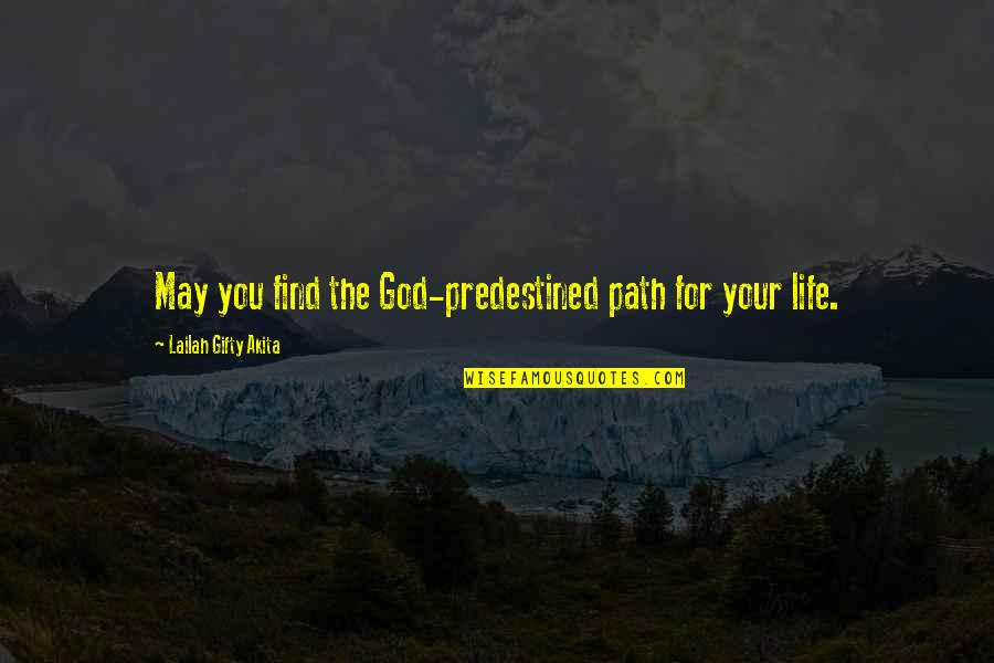 Differential Equation Quotes By Lailah Gifty Akita: May you find the God-predestined path for your