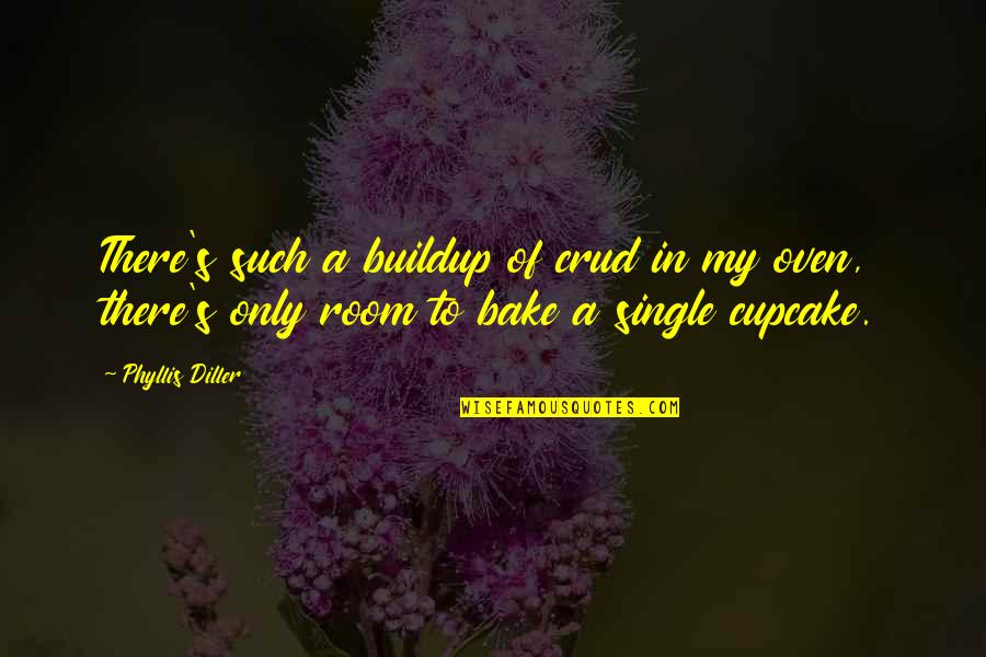 Diller's Quotes By Phyllis Diller: There's such a buildup of crud in my