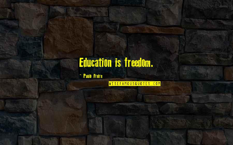 Direct Line Travel Insurance Quotes By Paulo Freire: Education is freedom.