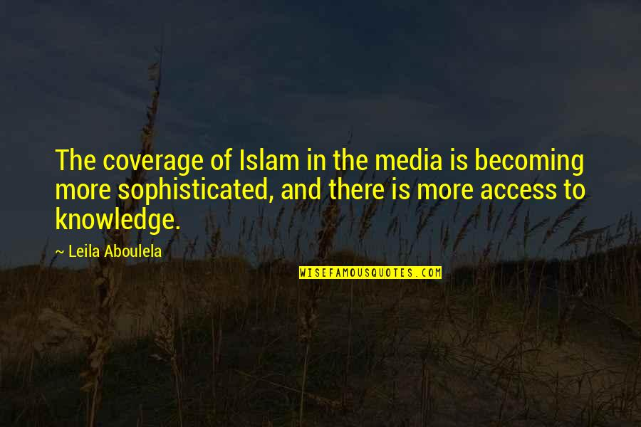 Disney Movies Quotes By Leila Aboulela: The coverage of Islam in the media is