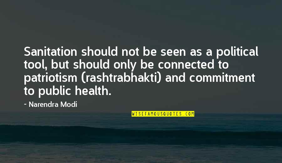 Diwali And Dhanteras Quotes By Narendra Modi: Sanitation should not be seen as a political