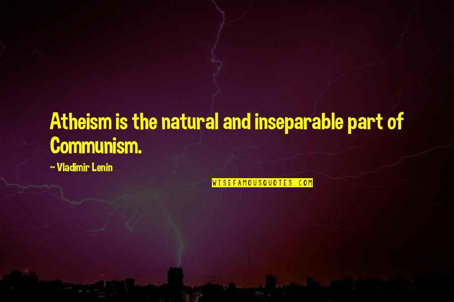 Do Book Reviews Need Quotes By Vladimir Lenin: Atheism is the natural and inseparable part of