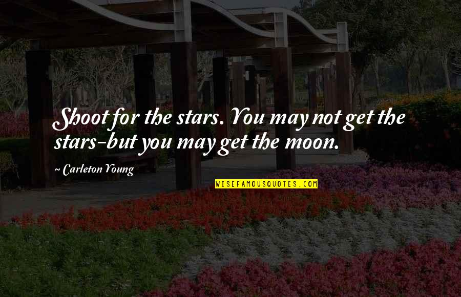 Do You Have To Indent Quotes By Carleton Young: Shoot for the stars. You may not get