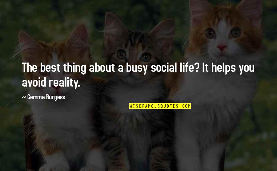 Does The Title Of A Song Go In Quotes By Gemma Burgess: The best thing about a busy social life?