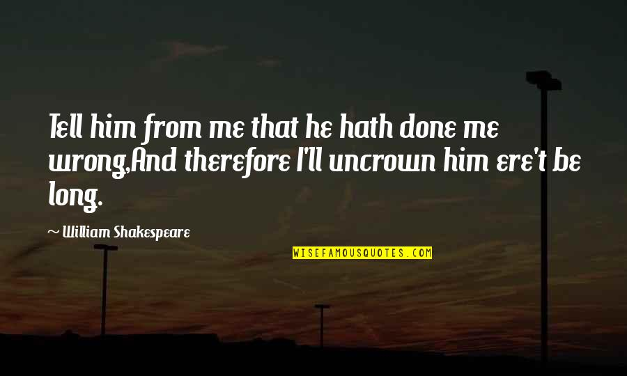 Done Me Wrong Quotes Top 23 Famous Quotes About Done Me Wrong