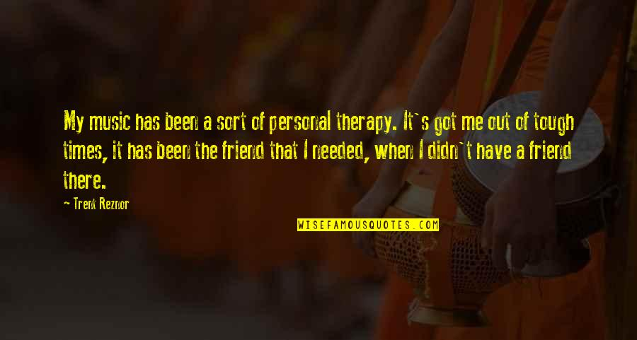 Dr Percy Julian Quotes By Trent Reznor: My music has been a sort of personal