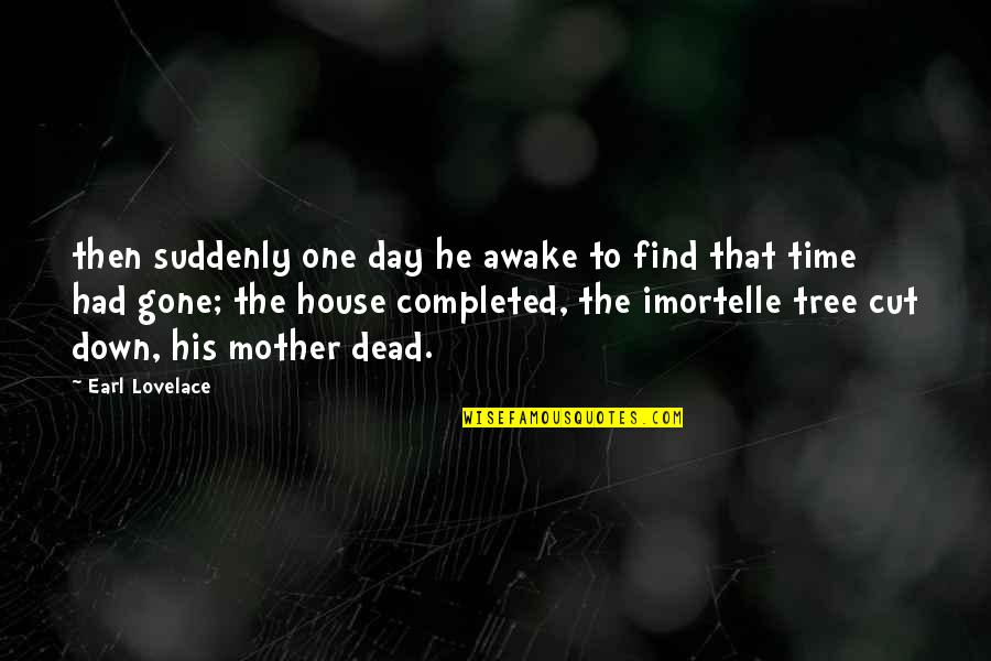 Earl Lovelace Quotes By Earl Lovelace: then suddenly one day he awake to find