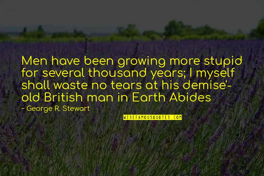 earth abides quotes