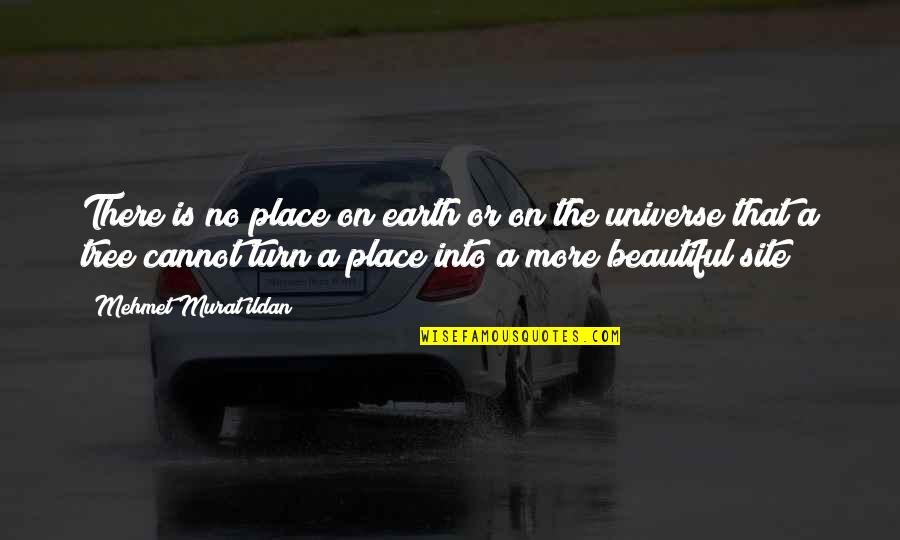 Earth And Universe Quotes By Mehmet Murat Ildan: There is no place on earth or on