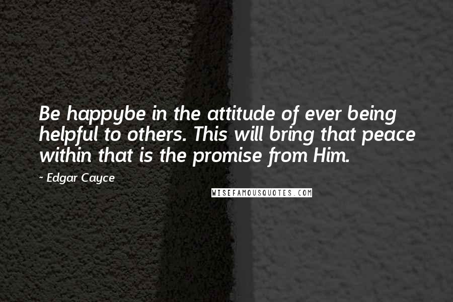 Edgar Cayce quotes: wise famous quotes, sayings and