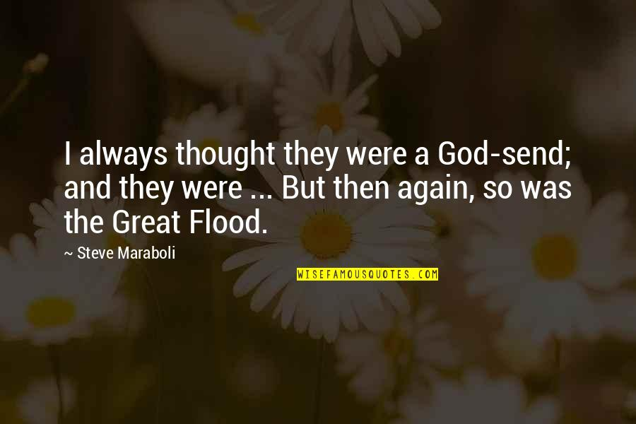 Elizabeth Cheney Quotes By Steve Maraboli: I always thought they were a God-send; and