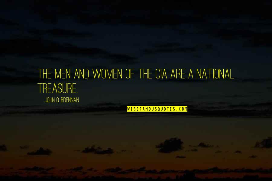 Embedding Quotes By John O. Brennan: The men and women of the CIA are