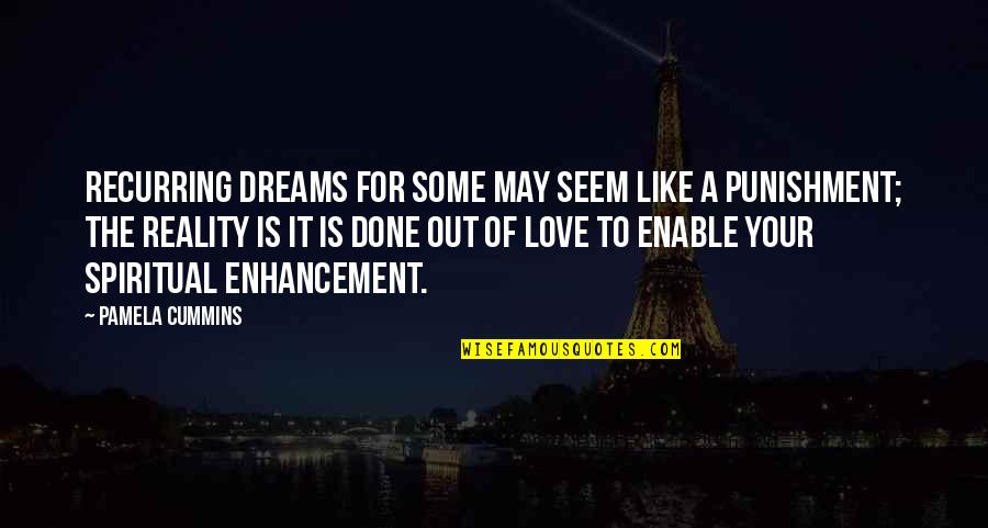Enable Quotes By Pamela Cummins: Recurring dreams for some may seem like a