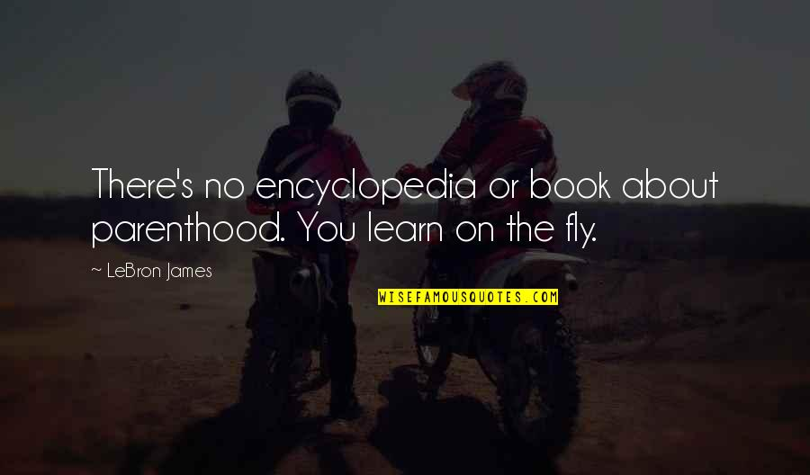 Encyclopedia Of Quotes By LeBron James: There's no encyclopedia or book about parenthood. You