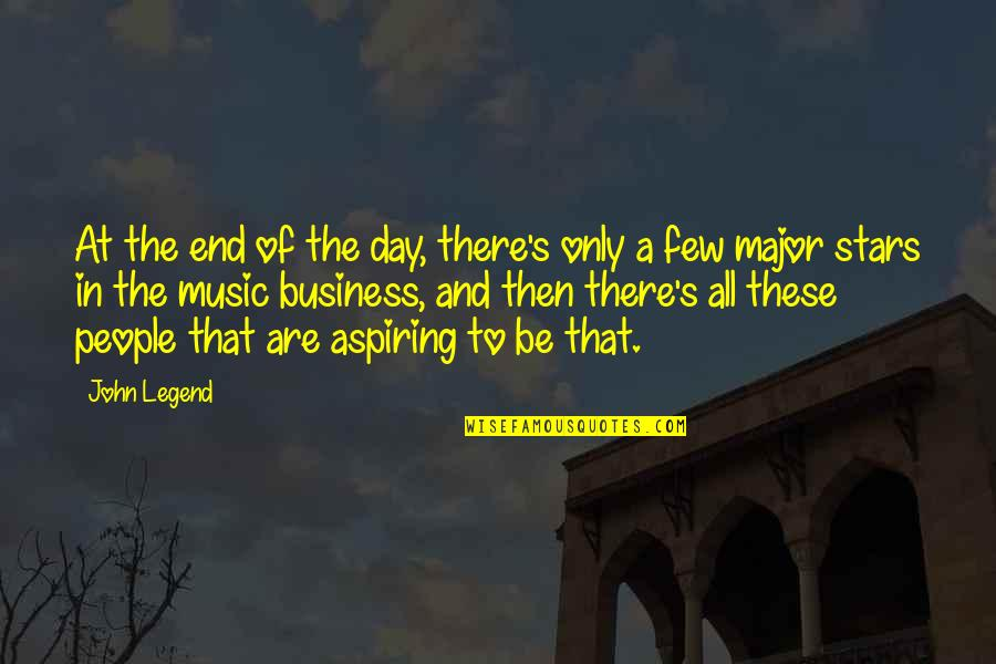 End The Day Quotes By John Legend: At the end of the day, there's only