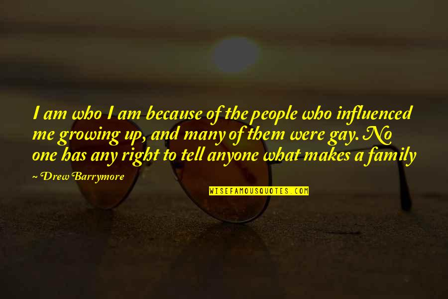 Eric Pollard Quotes By Drew Barrymore: I am who I am because of the