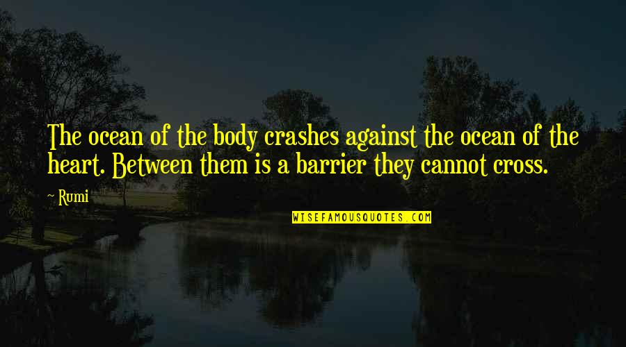 Erlang Quotes By Rumi: The ocean of the body crashes against the