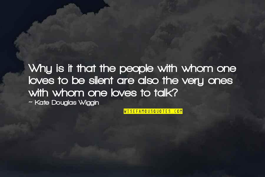 Even Stevens Movie Quotes By Kate Douglas Wiggin: Why is it that the people with whom