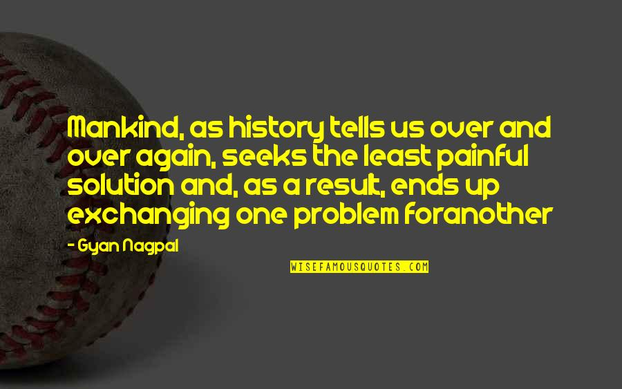 Evolution And Change Quotes By Gyan Nagpal: Mankind, as history tells us over and over