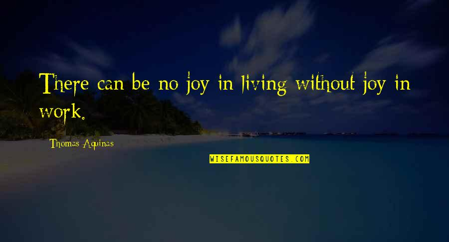 Excitement Of Meeting Someone New Quotes By Thomas Aquinas: There can be no joy in living without