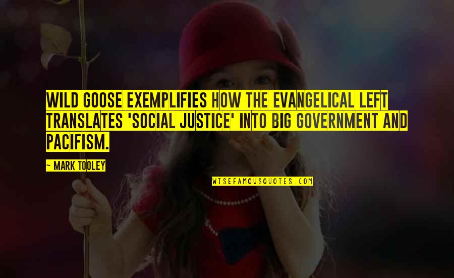 Exemplifies Quotes By Mark Tooley: Wild Goose exemplifies how the Evangelical Left translates