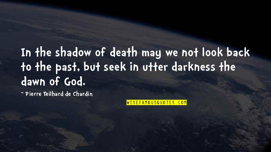 Expelled Movie Quotes By Pierre Teilhard De Chardin: In the shadow of death may we not