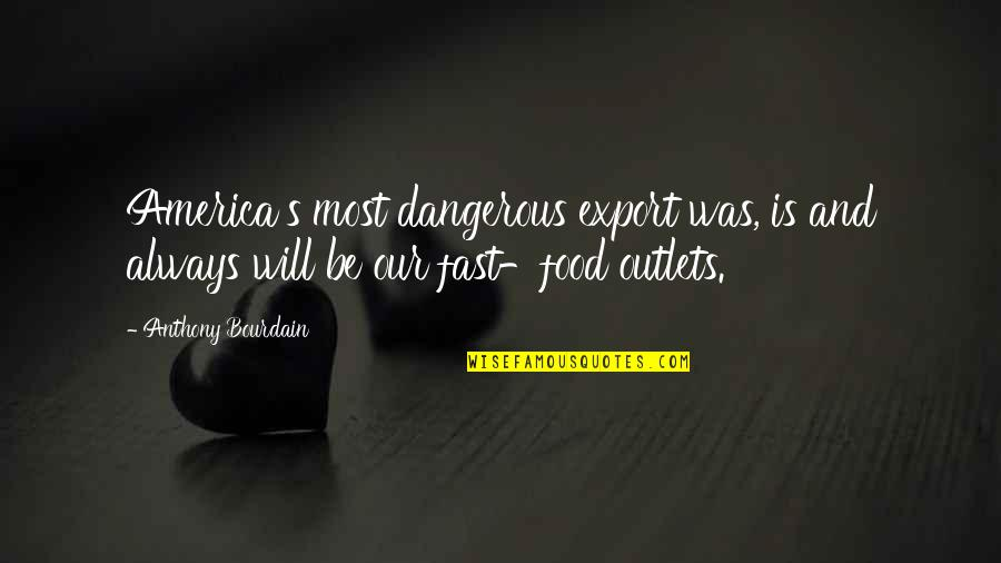 Export-csv No Quotes By Anthony Bourdain: America's most dangerous export was, is and always