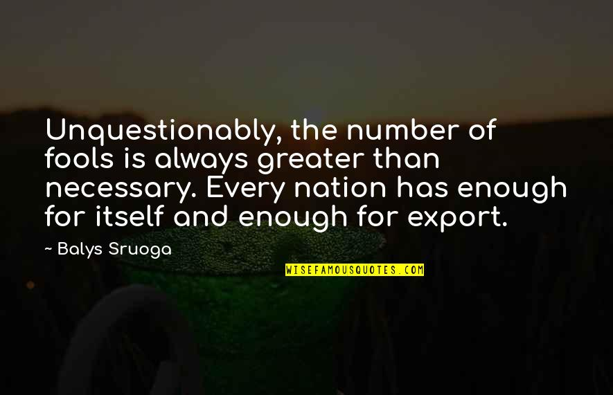 Export-csv No Quotes By Balys Sruoga: Unquestionably, the number of fools is always greater
