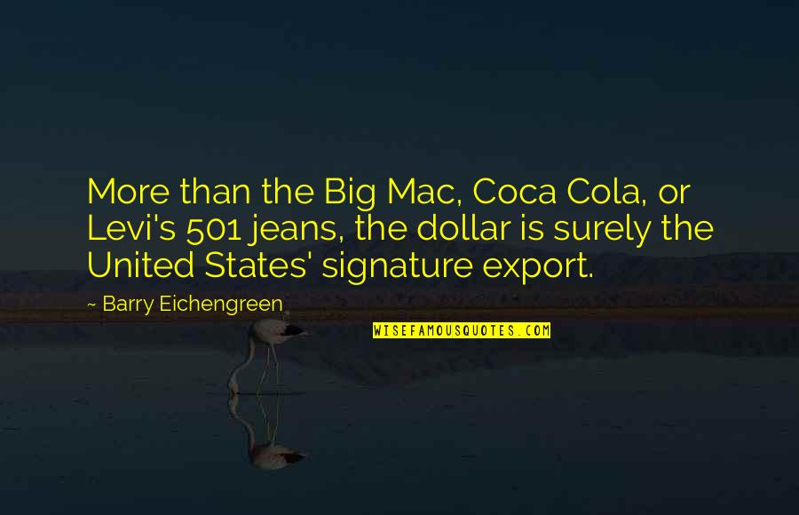 Export-csv No Quotes By Barry Eichengreen: More than the Big Mac, Coca Cola, or