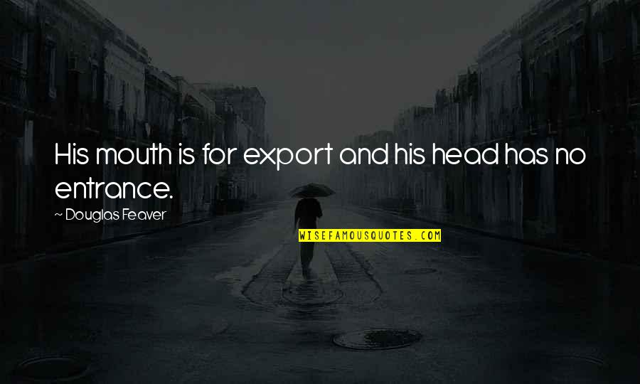 Export-csv No Quotes By Douglas Feaver: His mouth is for export and his head