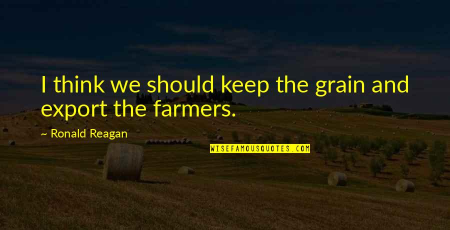 Export-csv No Quotes By Ronald Reagan: I think we should keep the grain and
