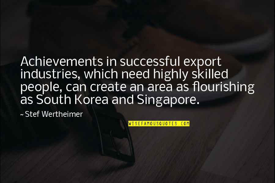 Export-csv No Quotes By Stef Wertheimer: Achievements in successful export industries, which need highly