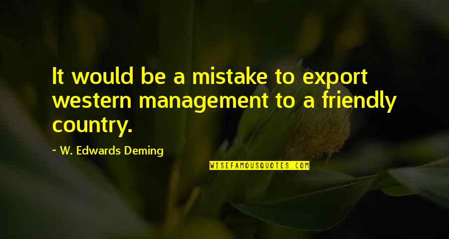 Export-csv No Quotes By W. Edwards Deming: It would be a mistake to export western