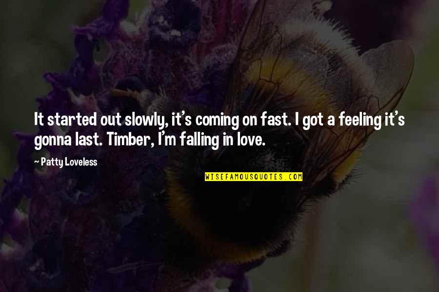 falling in love fast