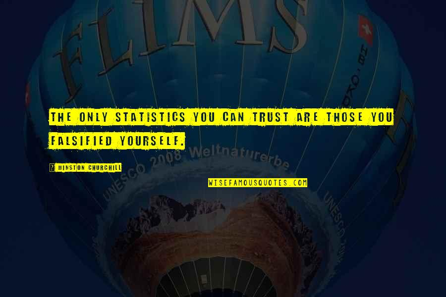 Falsified Quotes By Winston Churchill: The only statistics you can trust are those