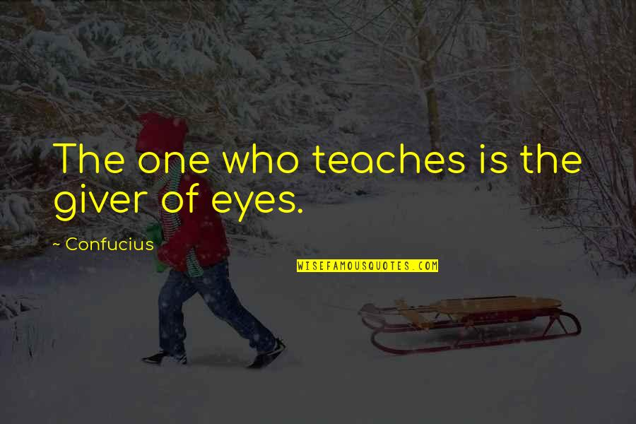 Family Guy Mom Quotes By Confucius: The one who teaches is the giver of